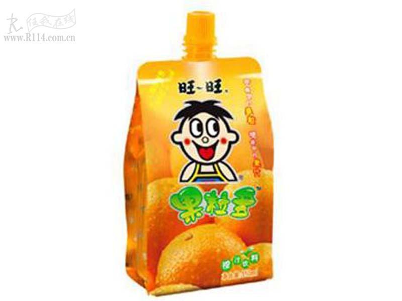 旺旺果粒多橙汁味300g