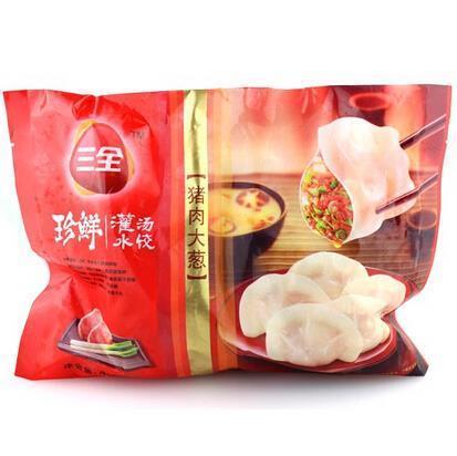三全猪肉大葱水饺450g