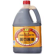 老才臣黄豆酱油1.75L