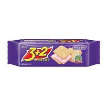 康师傅3加2甜苏打果香蓝莓味125g