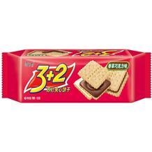 康师傅3加2甜苏打香草巧克力味125g