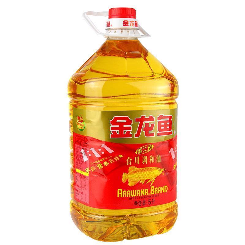 金龙鱼第二代食用调和油5l*4桶