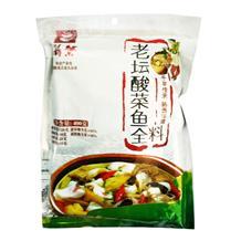 新繁酸菜鱼全料400g