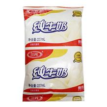 三元来福利乐枕纯牛奶227ml