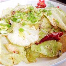 爆炒圆白菜(半成品)
