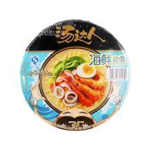 统一汤达人海鲜拉面碗装110g