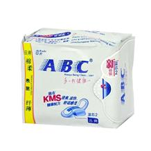 ABC纤薄棉柔日用8片卫生巾