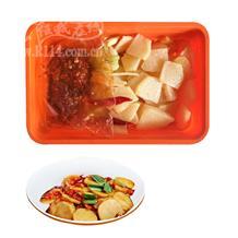 干锅土豆片(辣)