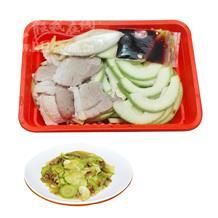 肉炒西葫芦(半成品)