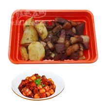 红烧肉炖土豆(半成品)