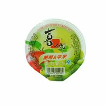 喜之郎葡萄苹果果肉果冻200g