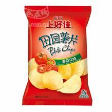 上好佳田园薯片番茄80g