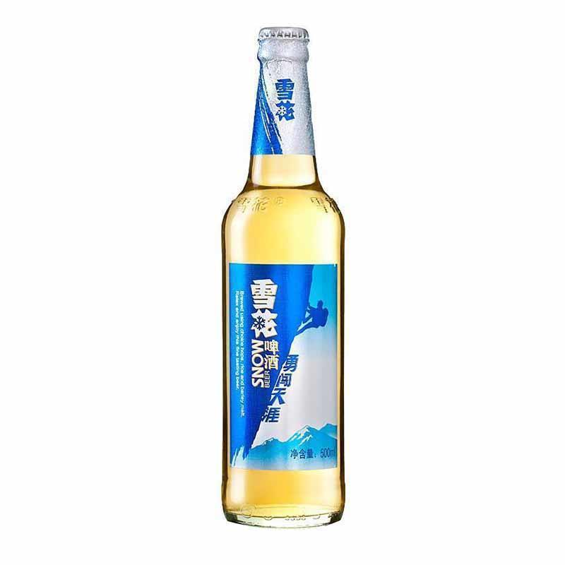 雪花啤酒勇闯天涯瓶装500ml