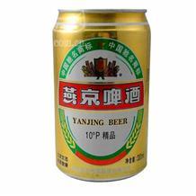燕京听装精品啤酒330ml