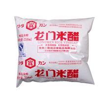 和田宽宽牌龙门袋装米醋350ml