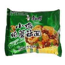 康师傅珍品袋面小鸡炖蘑菇面100g