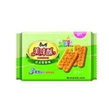 康师傅美味酥点点咸饼干葱香味255g