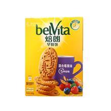 焙朗早餐饼干混合莓果味300g