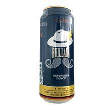 德国格鲁特辉煌小麦黑啤酒500ml