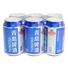 青岛清醇听啤330ml*6