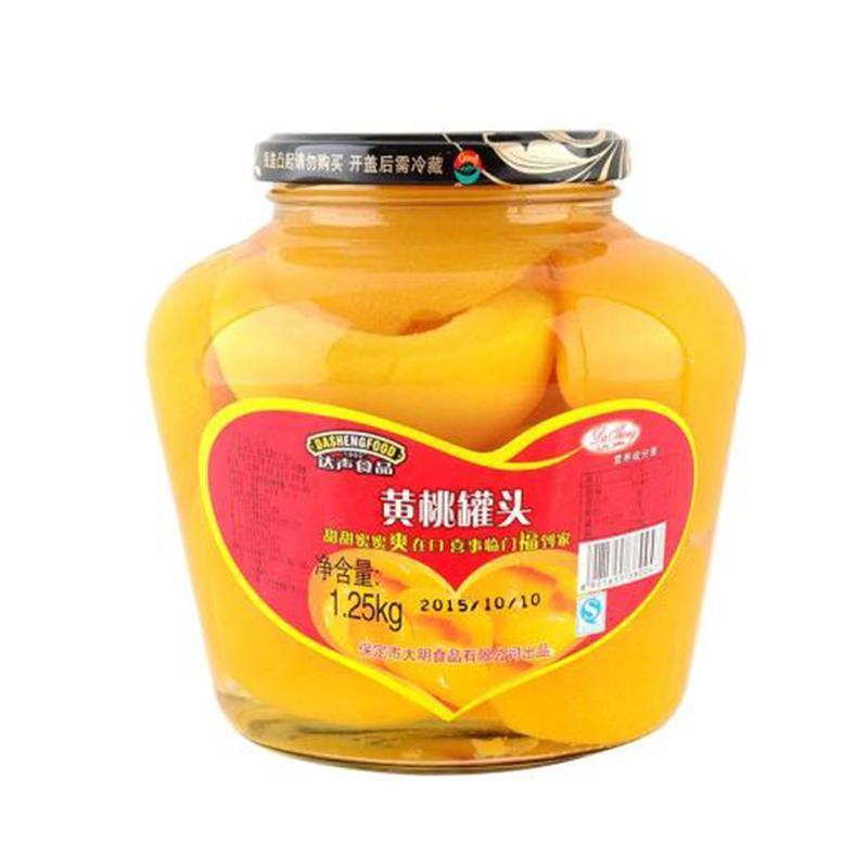 达声黄桃罐头1250g