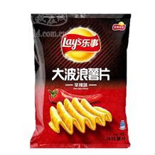 乐事大波浪薯片辛辣味70g