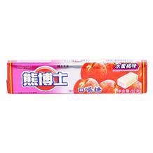 熊博士口嚼糖水蜜桃味52g