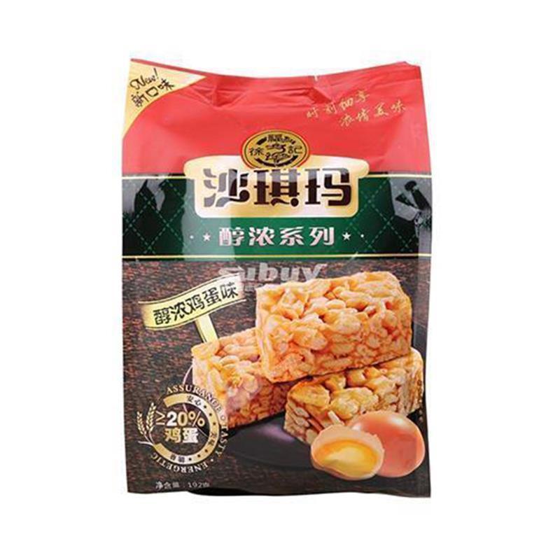 徐福记醇浓沙琪玛鸡蛋味192g