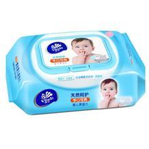 维达婴儿亲柔手口湿巾80片