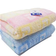 金号4145提花毛巾/条