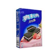 奥利奥双心脆草莓口味87g