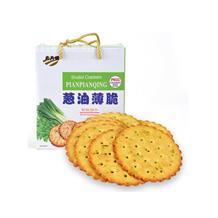 片片情葱油薄脆饼干600g