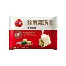 三全猪肉芹菜水饺450g