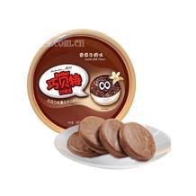 巧贝特夹心饼干香草牛奶味390g
