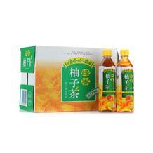 娃哈哈方瓶蜂蜜柚子茶500ml*15瓶  整箱