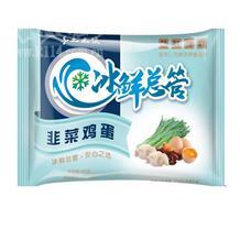三元韭菜鸡蛋水饺450g