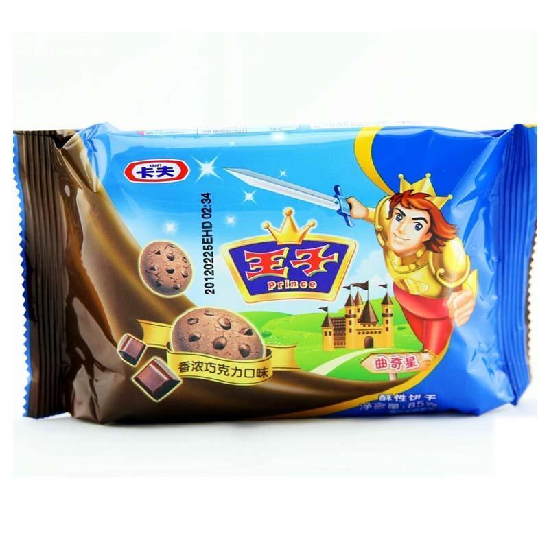 达能王子饼干_达能王子巧克力曲奇 饼干 85g