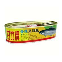 甘竹香辣豆豉鱼184g*24罐 整箱
