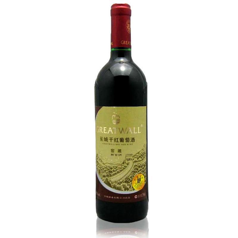 11.5°长城干红葡萄酒窖藏解百纳750ml
